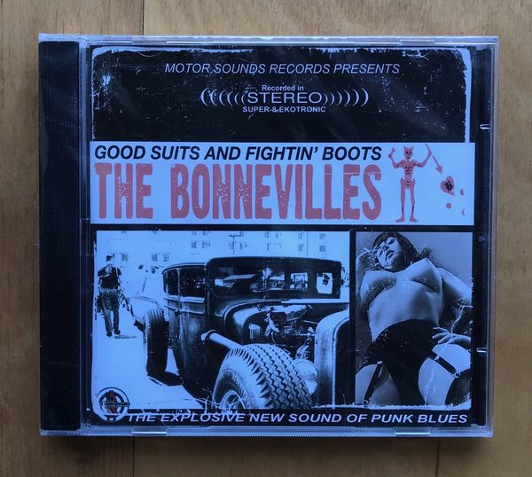 The Bonnevilles - Good Suits And Fightin´Boots - CD -